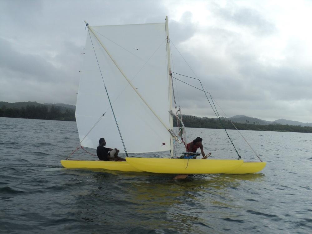 Outrigger Canoe racing