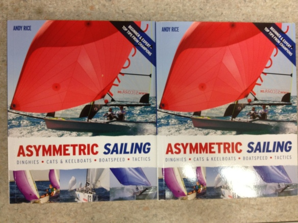 Picture of book Asymmetric Sailing by Andy Rice