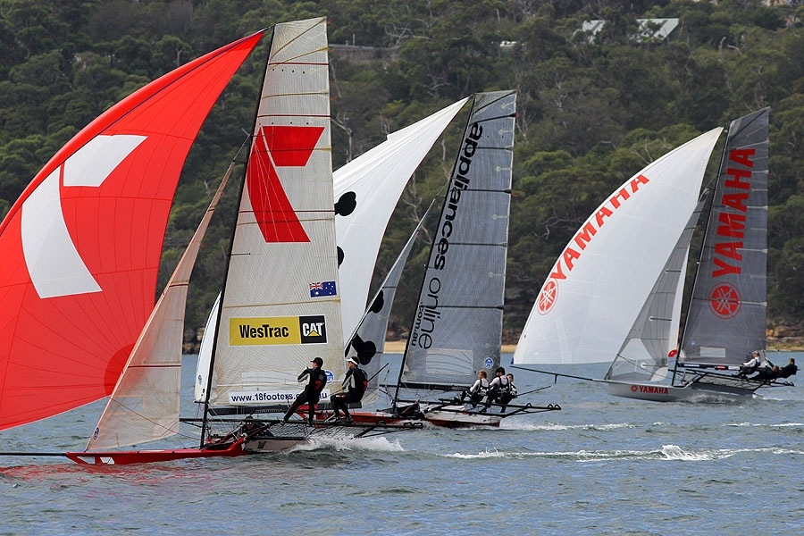 18' Skiffs - Race 5 (4/6)