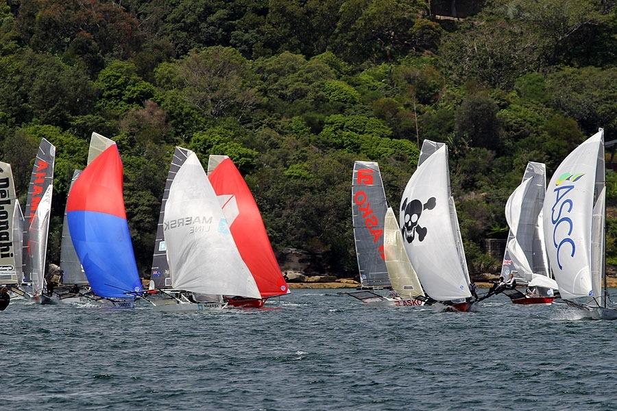 18' Skiffs - Race 5 (6/6)