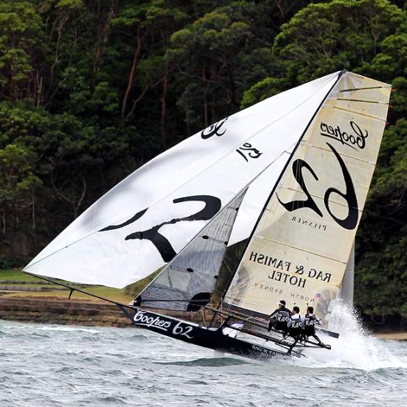 first race for the new coopers 62-rag & famish